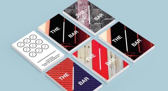 the bar loyalty card design
